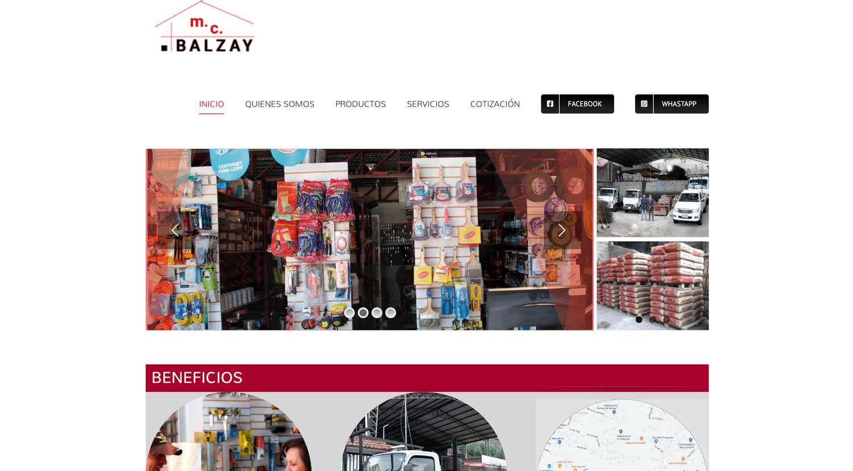 Ferreteria MC Balzay Correos electrónicos