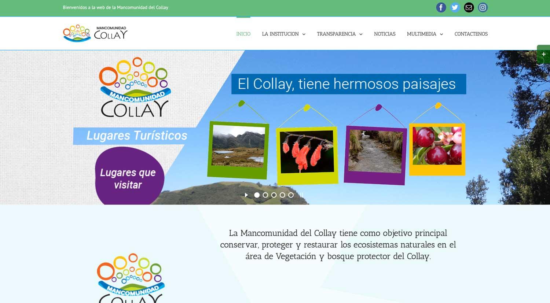 Mancomunidad El Collay Cuenca Ecuador paginas web