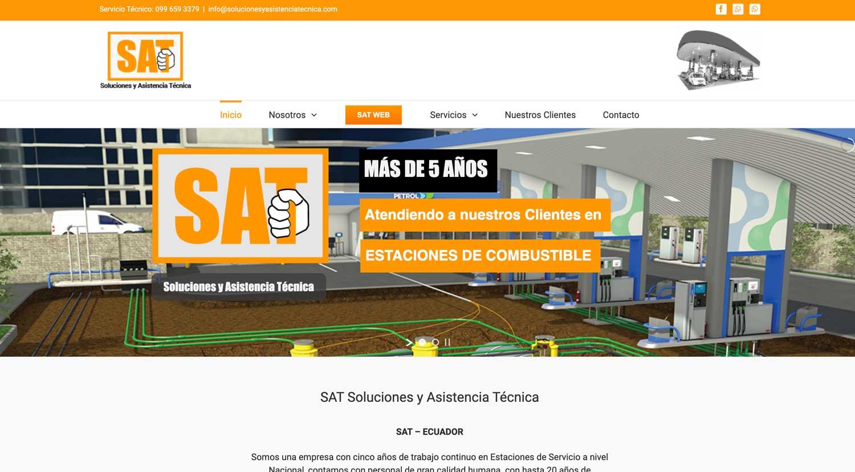Soluciones y Asistencia Técnica sitio web