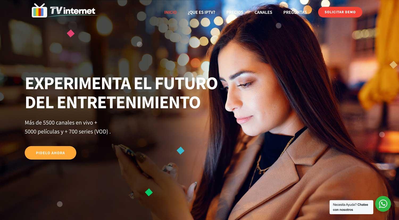 IPTV Latino páginas web Ecuador