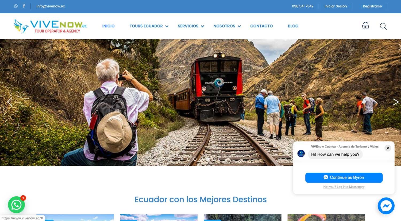 Agencia de Viajes vivenow